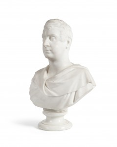 John Hogan - Bust of Richard, 2nd Earl of Bantry (one of a pair with his wife Mary) (8,000-12,000).