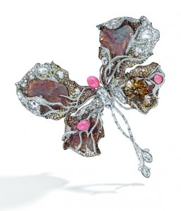The Black Label Butterfly Ballerina brooch.