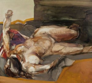 Barrie Cooke HRHA (1931-2014) Reclining Nude Oil (8,000-12,000)