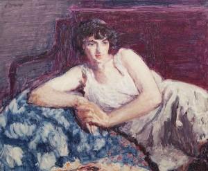 Roderic O'Conor (1860-1940) - Etude de Femme (60,000-80,000).