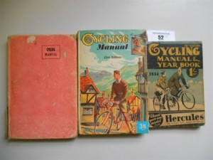 Three Cycling Manuals for 1934, 1960 & 1954 London: Temple Press Ltd.