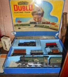 A Hornby Dublo Electric Train, EDG17, in original packaging.