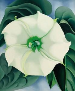 Georgia O'Keeffe - Jimson Weed/White Flower No. 1