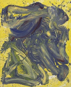 Untitled 1965 by Kazuo Shiraga (£150,000-250,000).  Courtesy Christie's Images ltd., 2014