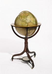 A 21-Inch Terrestrial Globe, by J. & W. Cary Circa 1815 ($20,000-30,000).