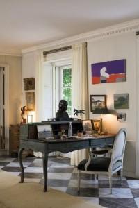 An interior shot of a Mellon residence.