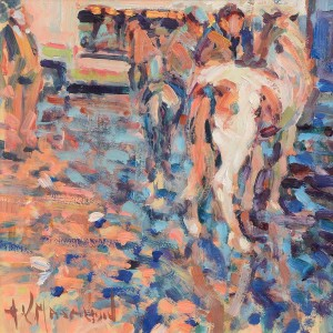 Arthur Maderson -  Point of Sunset, Tallow Horse Fair (1,000-1,500).