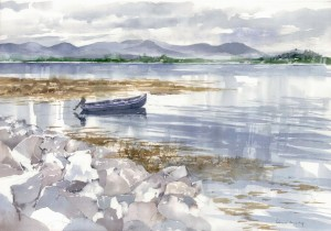 Roundstone Bay by Liam O'Herlihy.