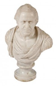 Italian 18th/19th Century White Marble Bust (5,000-8,000).