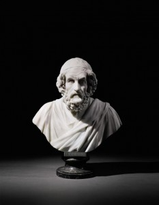 Bust of Homer by Francis Harwood.