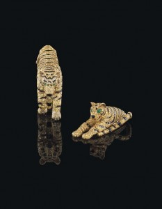 The Cartier Tiger Jewels.