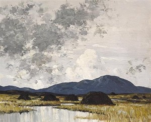 Paul Henry - In the West of Ireland c1938 (45,000-55,000).