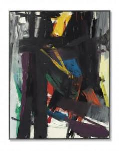 Franz Kline (1910-1962) King Oliver - 1958 ($25-35 million).  Courtesy Christie's Images Ltd., 2014.