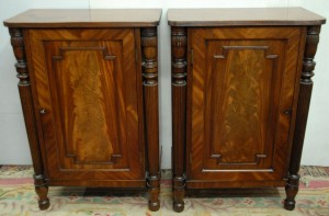 A pair of Regency side cabinets at Marshs.