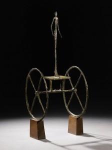 Alberto Giacometti - Chariot.