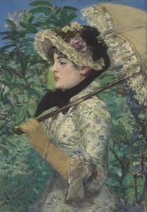 EDOUARD MANET, Le Printemps, oil on canvas, 1881, $25-35million. Courtesy Christie's Images Ltd., 2014.