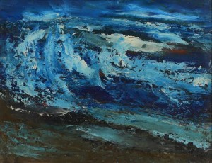 Daniel O'Neill (1920-1974) Waves  (1,500-2,500).