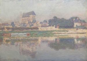 Claude Monet Église de Vernon, soleil