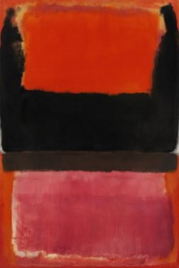Property from The Schlumberger Collection Mark Rothko No. 21 (Red, Brown, Black and Orange) signed and dated 1953 on the reverse oil on canvas 241.5 by 162.5 cm; 95 by 64 in. Executed in 1951.
