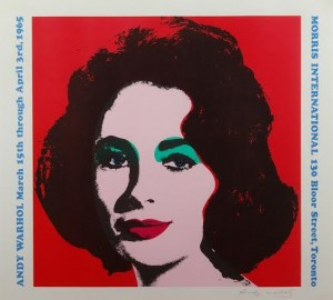 Andy Warhol at Haynes Fine Art.
