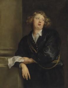 Sir Anthony van Dyck - Portrait of Henry Liberti.