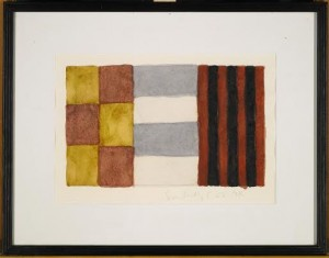 SEAN SCULLY UNTITLED signed and dated 5.28.94 (£8,000-12,000).