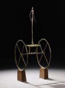 Alberto Giacometti's Legendary CHARIOT