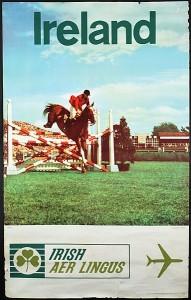 A c1960 Aer Lingus Dublin Horse Show poster (100-150).