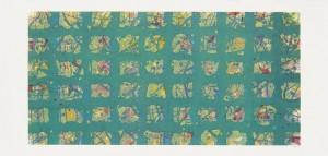 Sam Francis - La Primavera Fredda (Cold Spring) courtesy Christie's Images Ltd., 2014 (£5,000-7,000).