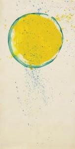 Sam Francis - Untitled 1986 (£45,000-60,000).