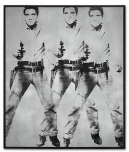Andy Warhol (1928-1987) Triple Elvis