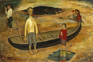 Gerard Dillon (1916-1971) - Little Boy playing at God (15,000-20,000).
