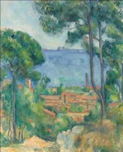 Paul Cézanne, Vue sur L'Estaque et Le Château d'If