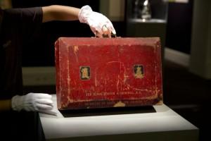 Winston Churchill's Despatch Box.
