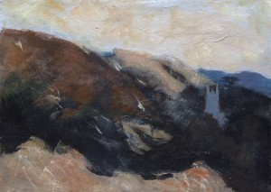 Nancy Wynne Jones (1922-2006) - The Edge of the Mountains (700-1,000).