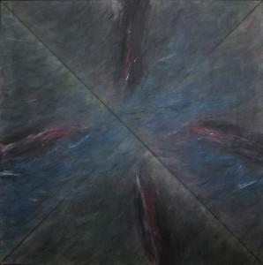 Charles Tyrrell (b 1950) - Cross Flow (5,000-8,000).