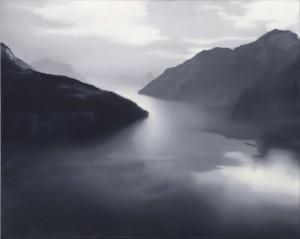 Gerhard Richter (B. 1932) Vierwaldstätter See (In the region of £10 million). Courtesy, Christie's Images Ltd., 2015.