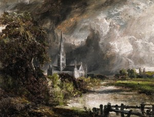 John Constable, R.A. Salisbury Cathedral from the Meadows