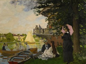 Claude Monet - L'Embarcadere 1871.