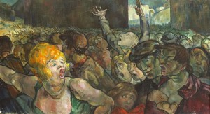 Revolution, 1942 by Mary Swanzy (1882-1978) sold for a hammer price of 6,000.