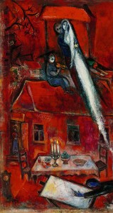 Marc Chagall La Maison Rouge 1948 ($2.5-3.5 million).