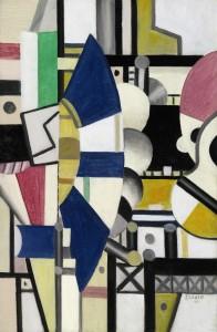 Fernand Léger La Roue Bleue, État Définitif ($6-8 million).