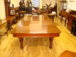 A large Victorian extension table, William Harnett Co.Limerick