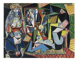 "PABLO PICASSO Les femmes d'Alger (Version ""O"") © 2015 Estate of Pablo Picasso / Artists Rights Society (ARS), New York"