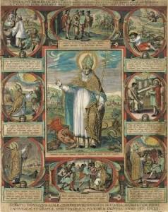 Adriaen Collaert (1560-1618) ''St. Patrick', 1603 Photo © National Gallery of Ireland