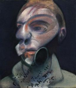 Francis Bacon Self-Portrait, 1975 - copyright Sotheby's