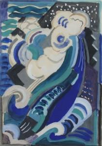 Mainie Jellett 1897 - 1944 THE WAVE (4,500-5,000)