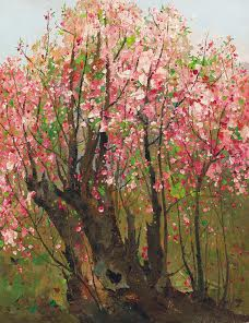 Wu Guanzhong's Plum Blossoms sold for US$8.6 million.