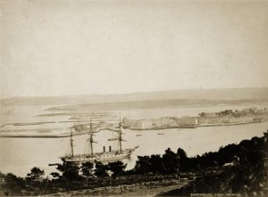 Queenstown, now Cobh, as it would have looked to hundreds of thousands of Irish seeking a better life in the New World.