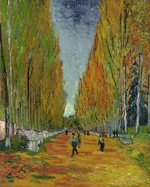 Vincent van Gogh - L'allée des Alyscamps